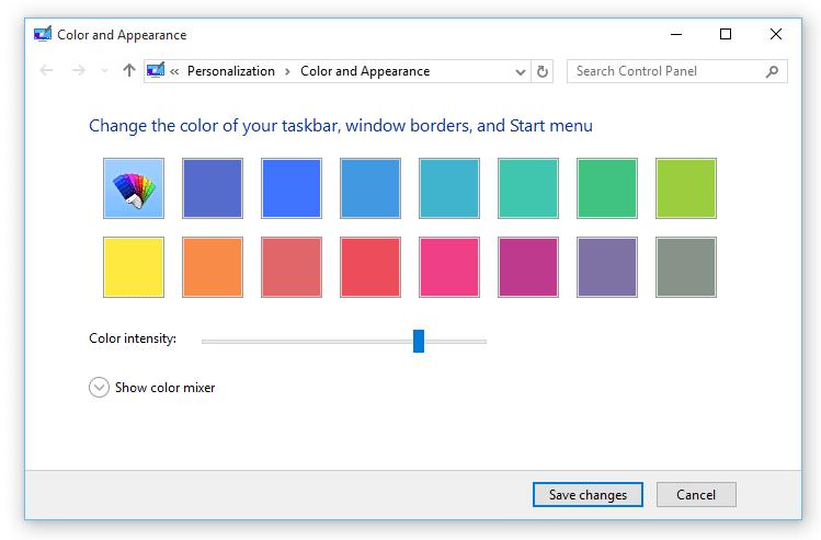 menu item stuck on desktop windows 10