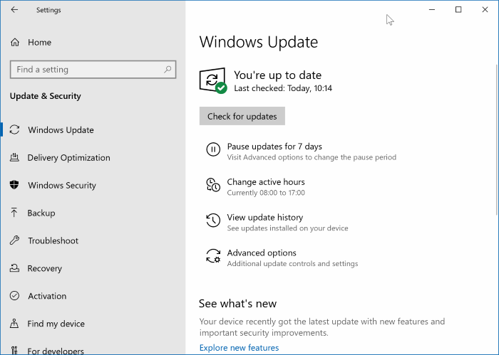 disable windows update in Windows 10 pic01