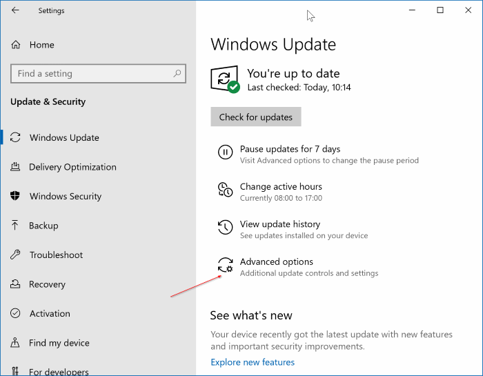 disable windows update in Windows 10 pic1