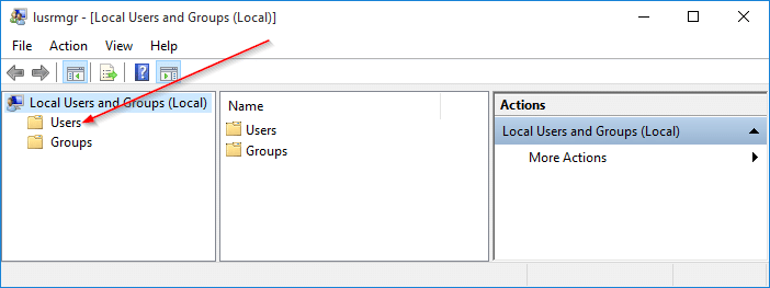 Create Guest user account in Windows 10 step2