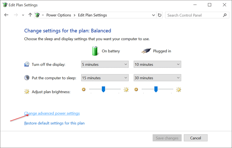 Disable Auto Screen Brightness in Windows 10 pic3