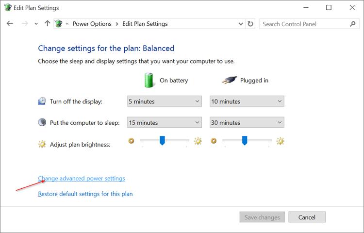 Disable Auto Screen Brightness in Windows 10 pic3