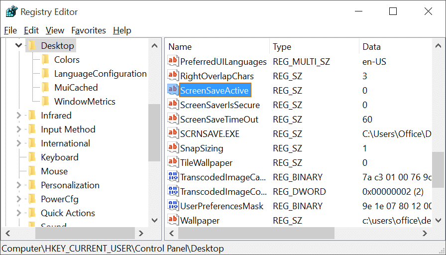 Enable Screen saver in Windows 10 pic4.1.jpg