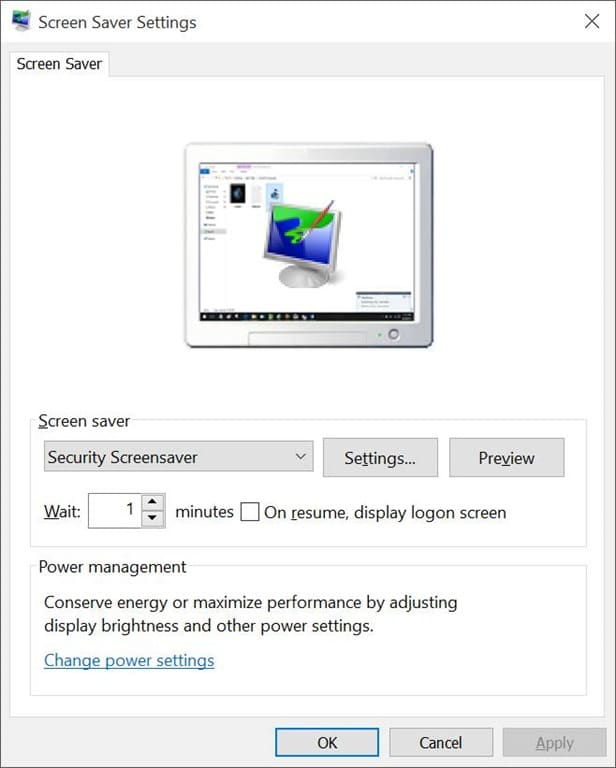 how to find screensaver in windows 10