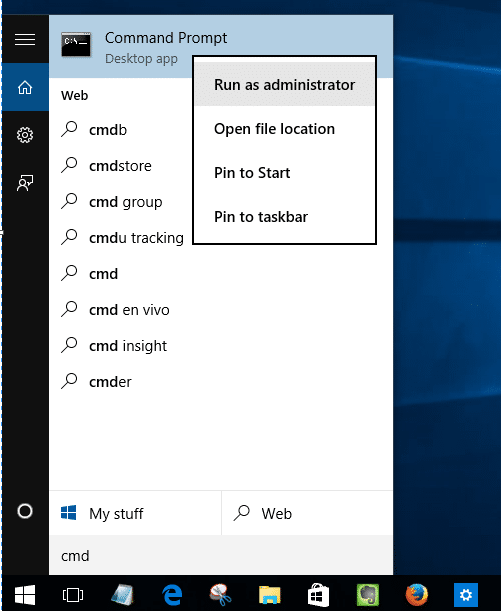 Fix Windows Store not opening or loading in Windows 10