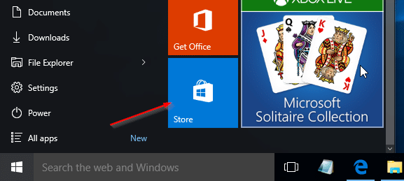 Install apps from Store without Microsoft account Windows 10 pic01