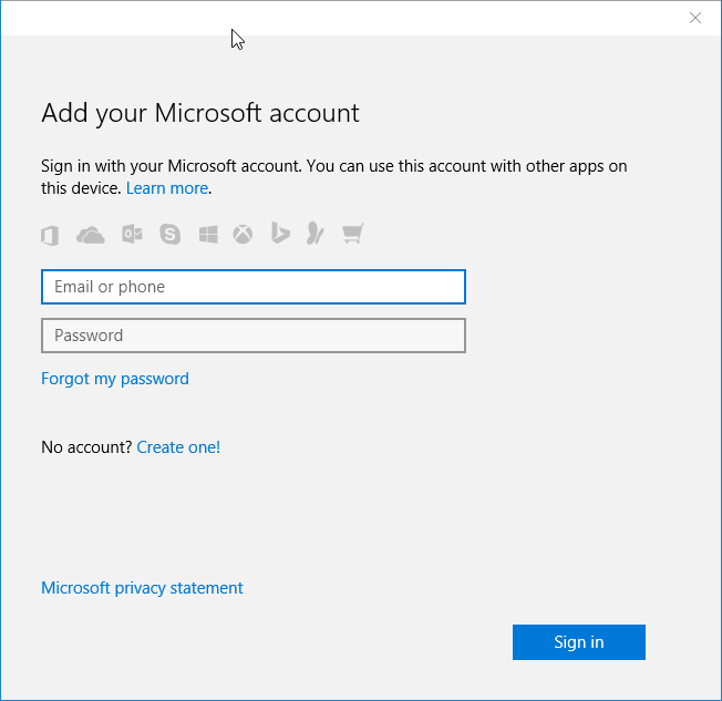 Install apps from Store without Microsoft account Windows 10 pic5