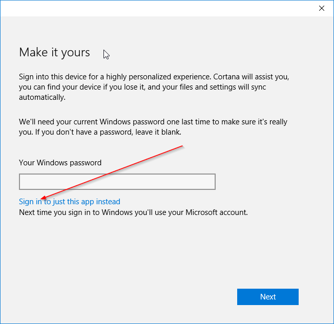 Install apps from Store without Microsoft account Windows 10 pic6