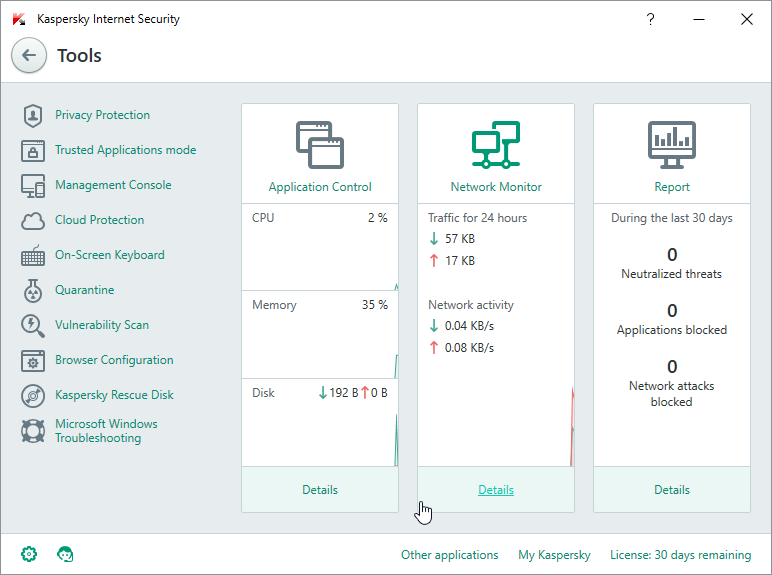 Kaspersky Internet Security for Windows 10 picture2