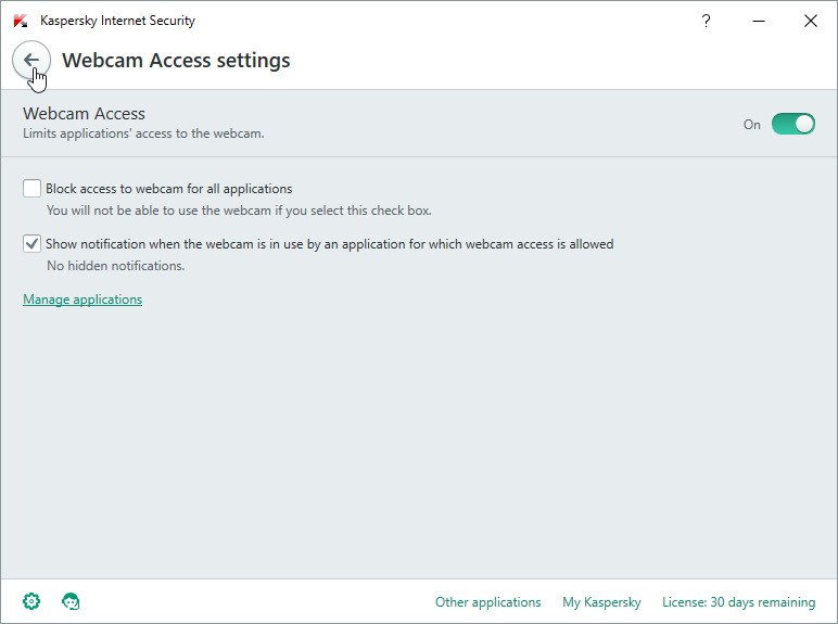 Kaspersky Internet Security for Windows 10 picture4