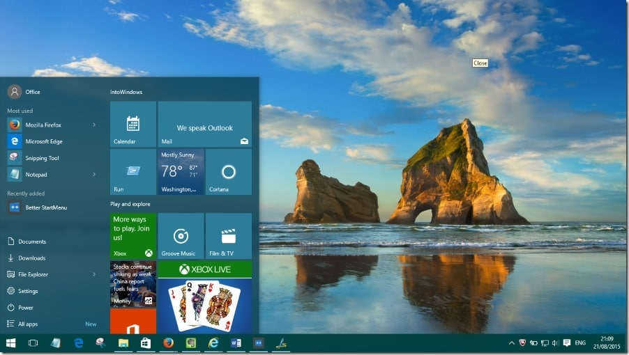 Make Start menu faster in Windows 10 pic1