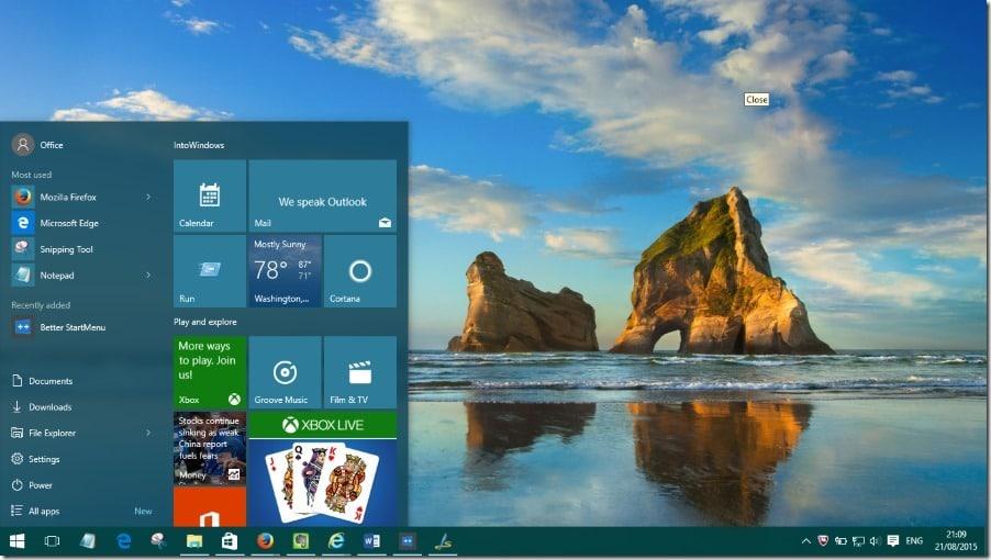 Make Start menu faster in Windows 10 pic1