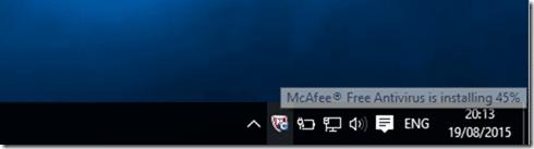 McAfee free antivirus pic1
