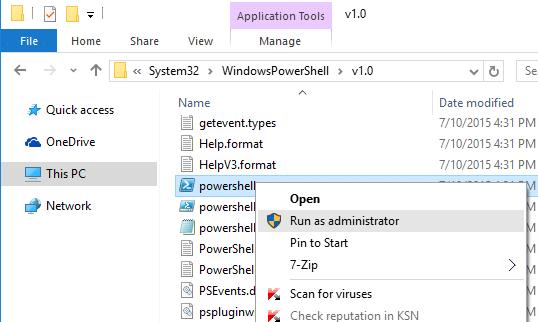 repair start menu windows 10