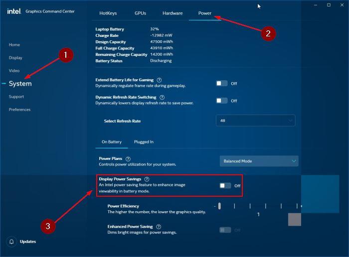 disable auto brightness in Windows 10 pic7