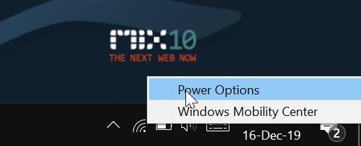 disable auto or adaptive brightness in Windows 10 pic1