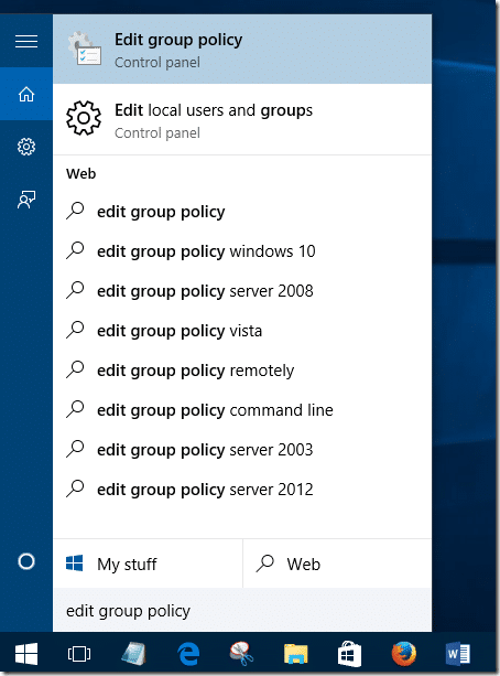 windows 10 guest group