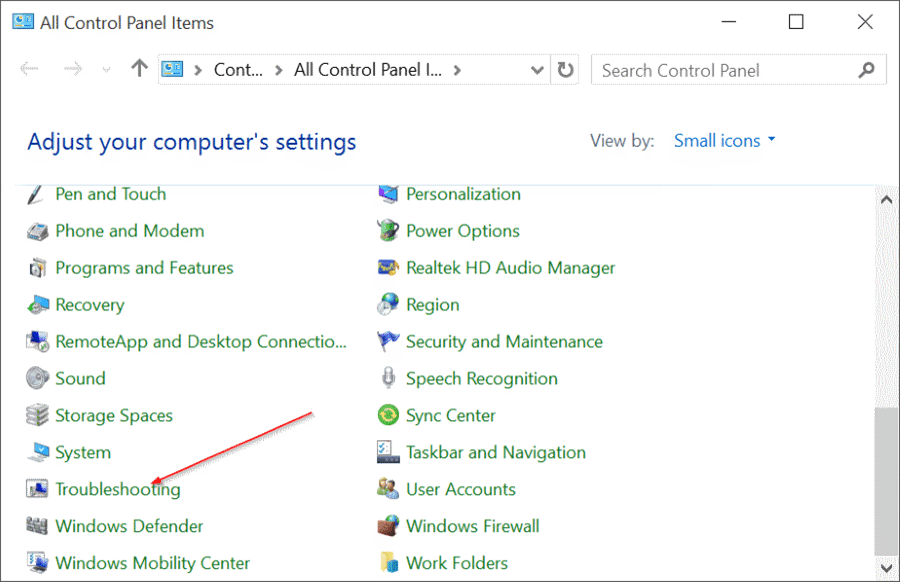 fix Windows 10 search issues by rebuilding index pic7