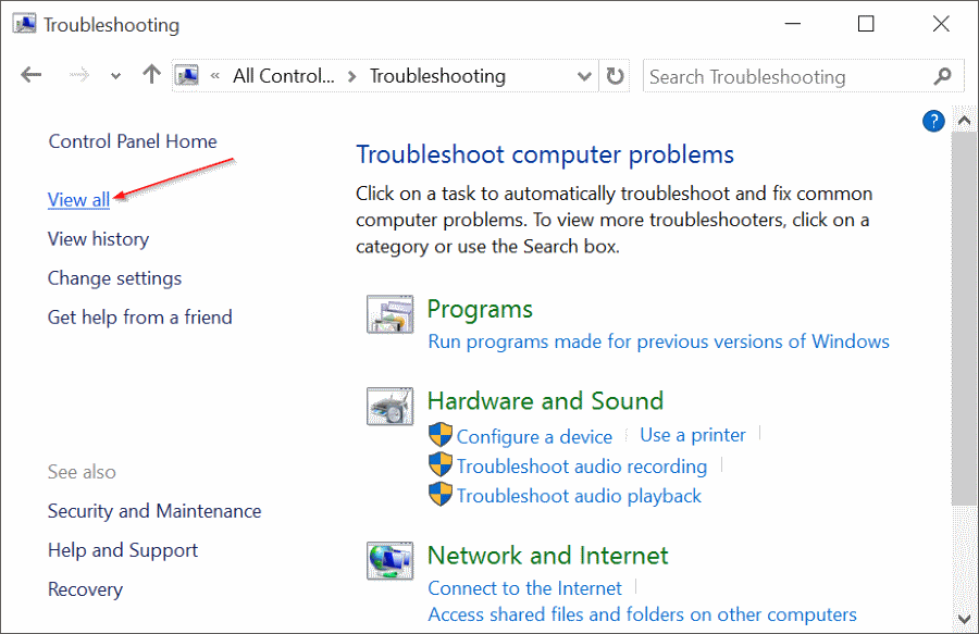 fix Windows 10 search issues by rebuilding index pic8