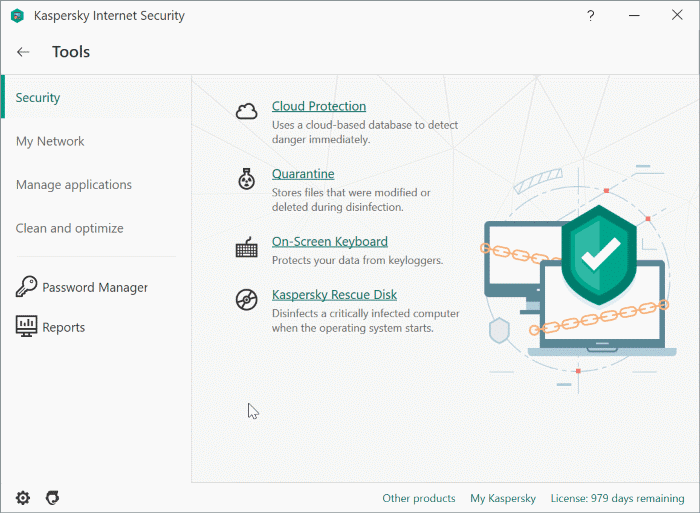 kaspersky internet security for Windows 10 pic2