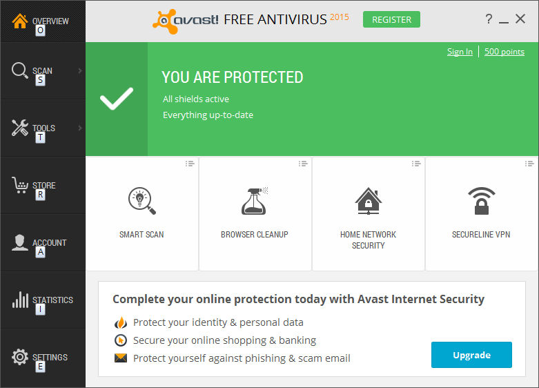 Avast Free for Windows 10