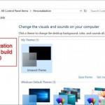 Microsoft Restores The Classic Personalization Window In Windows 10 Build 10547