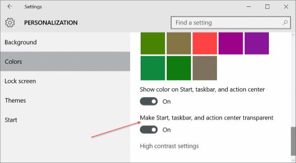 Customize Windows 10 taskbar pic1