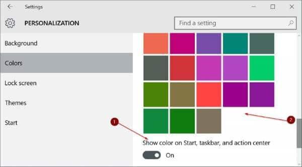 Customize Windows 10 taskbar pic2