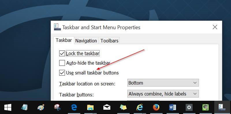Customize Windows 10 taskbar pic4.2