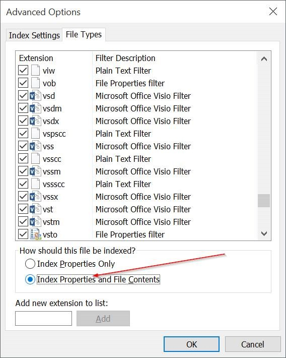 System Files How To Search The Contents Of Any File Type Using Windows Search