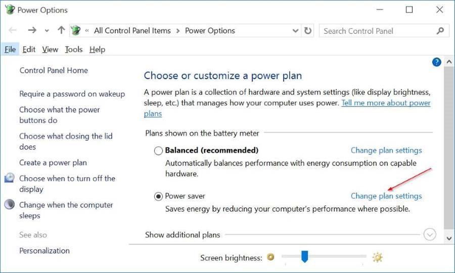 Manually adjust screen brightness in Windows 10 pic3