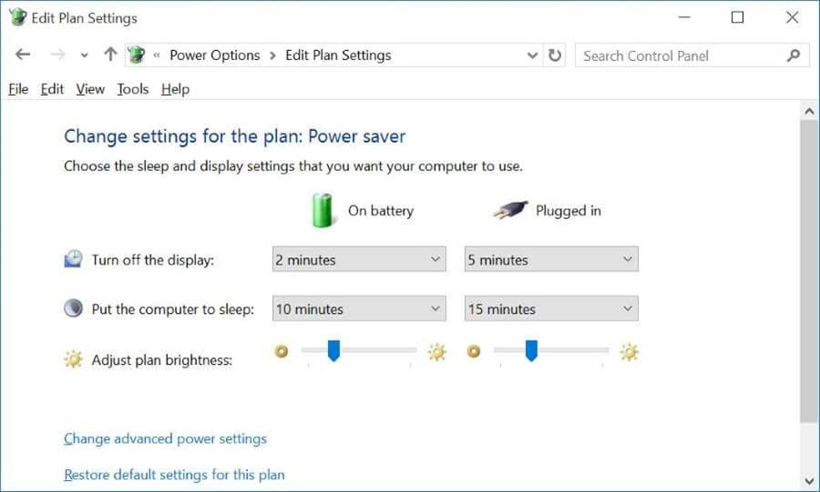 Manually adjust screen brightness in Windows 10 pic4