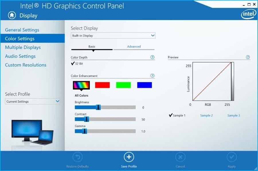monitor dimmer windows 10