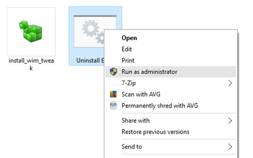 Uninstall and remove Edge from Windows 10 pic1