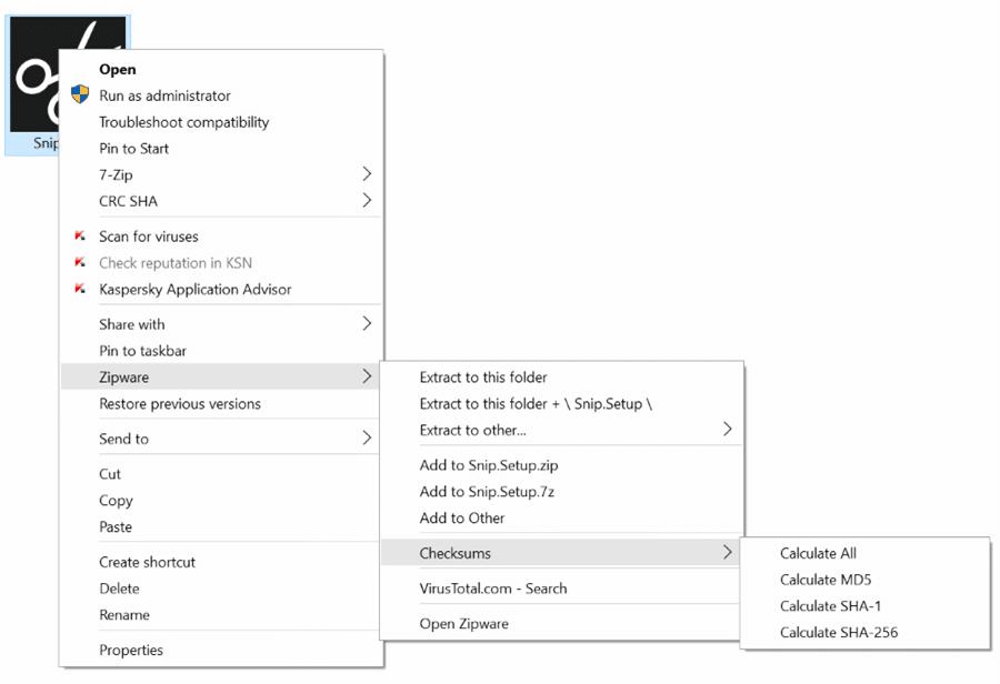 Zipware for Windows pic2