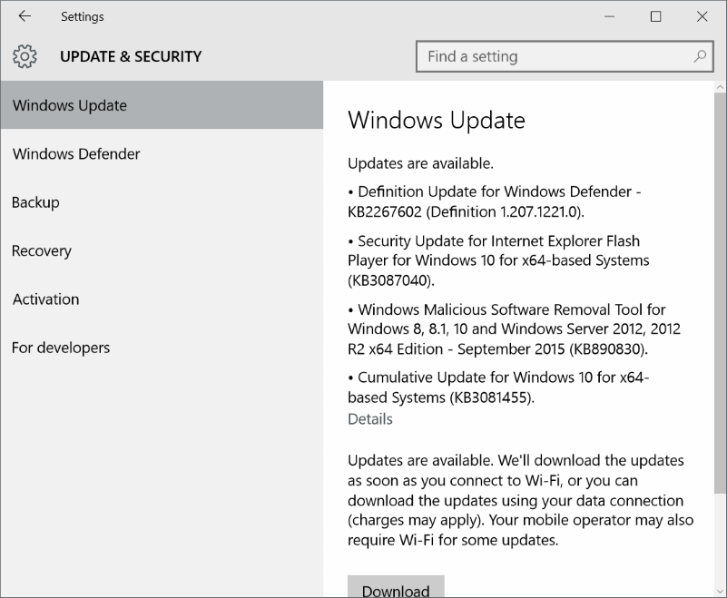 when I turned on my ThinkPad running Windows  Fix: We Can't Finish Downloading Your Update On Windows 10
