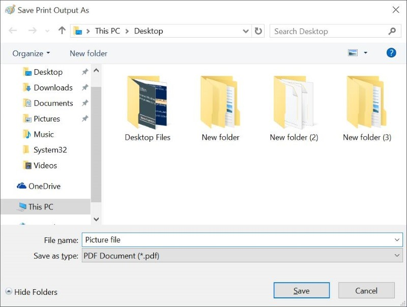 Convert Documents To PDF In Windows 10 Without Third Pary Tools pic4