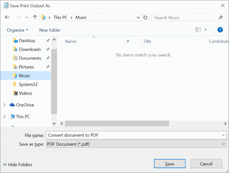 Convert Documents To PDF In Windows 10 Without Third Pary Tools pic9