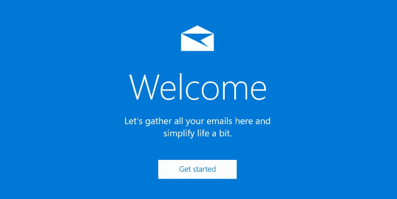 Reinstall the mail app in Windows 10