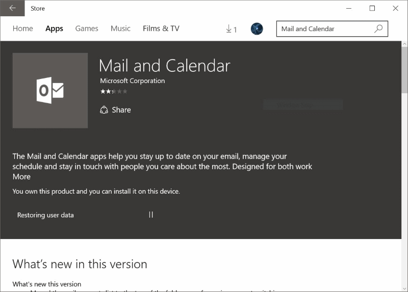 Reinstall Mail app in Windows 10pic6