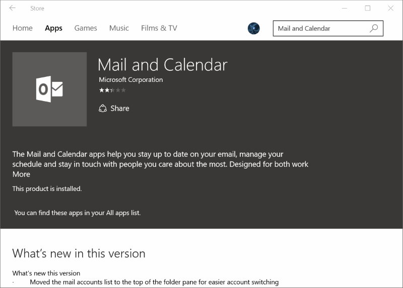 Reinstall Mail app in Windows 10pic7