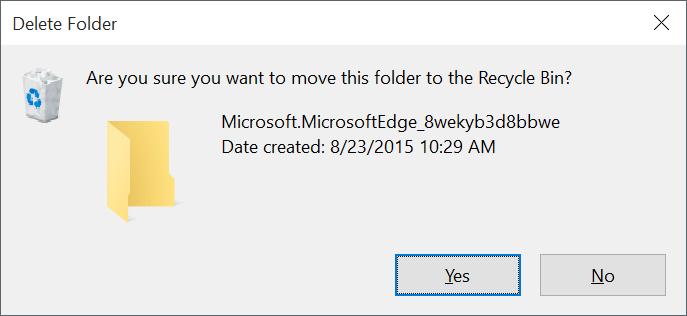 Reinstall Microsoft Edge In Windows 10 step3