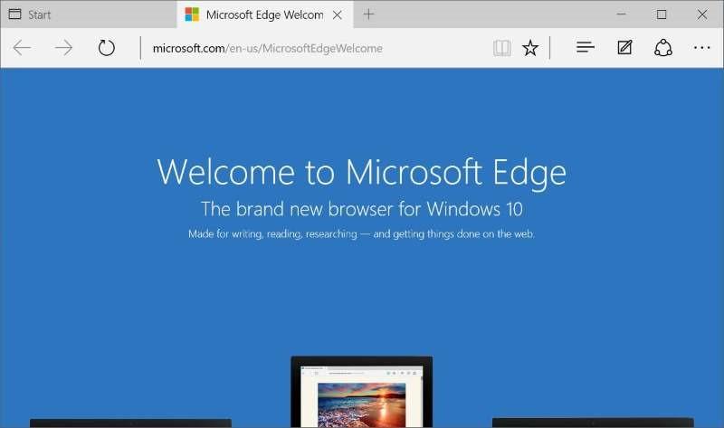 Reinstall Microsoft Edge In Windows 10