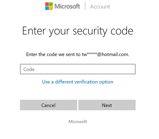 Reset or change Microsoft account password Windows 10 pic10
