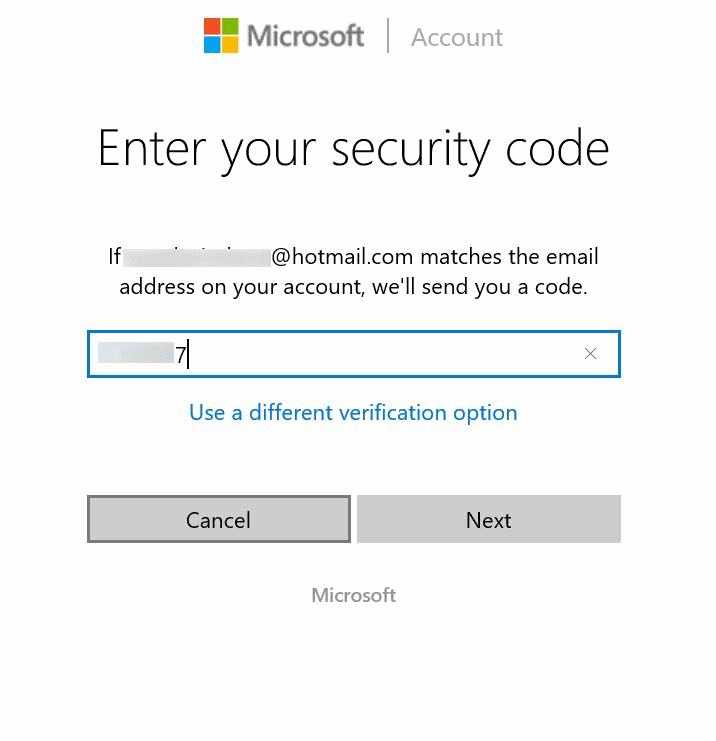 Reset or change Microsoft account password Windows 10 pic13