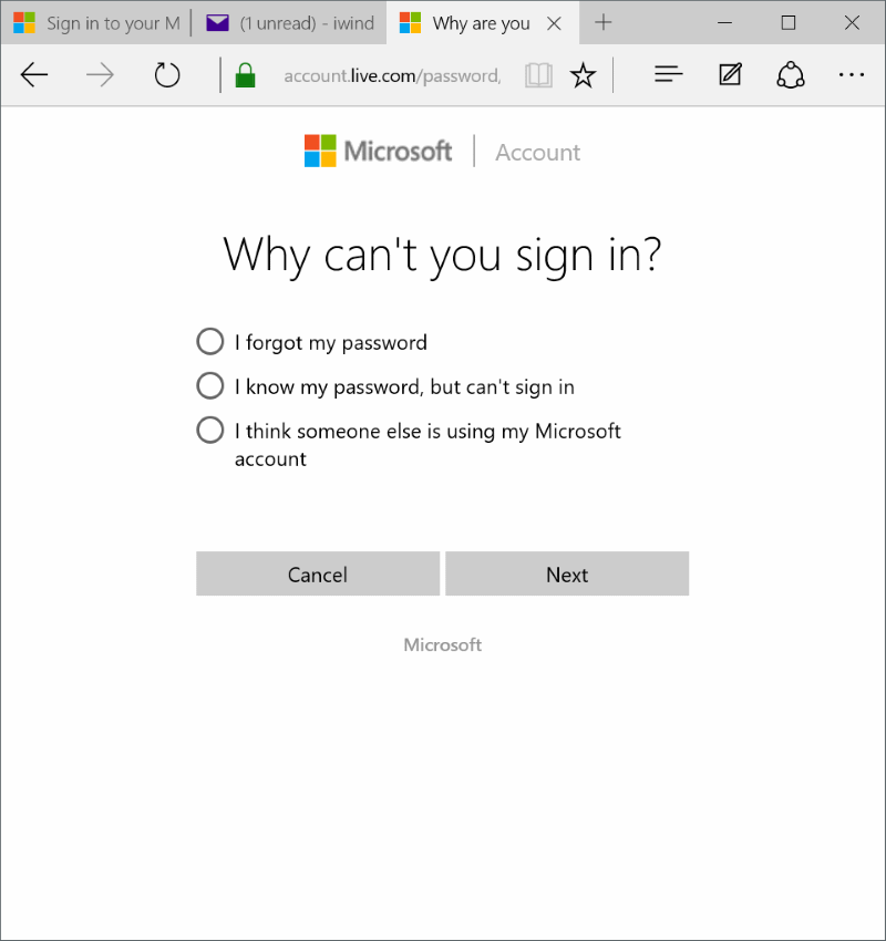 Reset or change Microsoft account password Windows 10 pic8.jpg