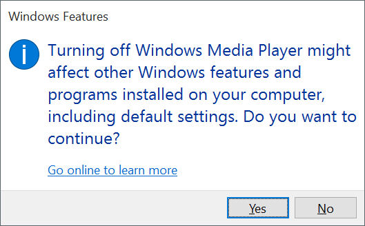 Many of the features that ship with Windows  How To Enable Or Disable Features In Windows 10
