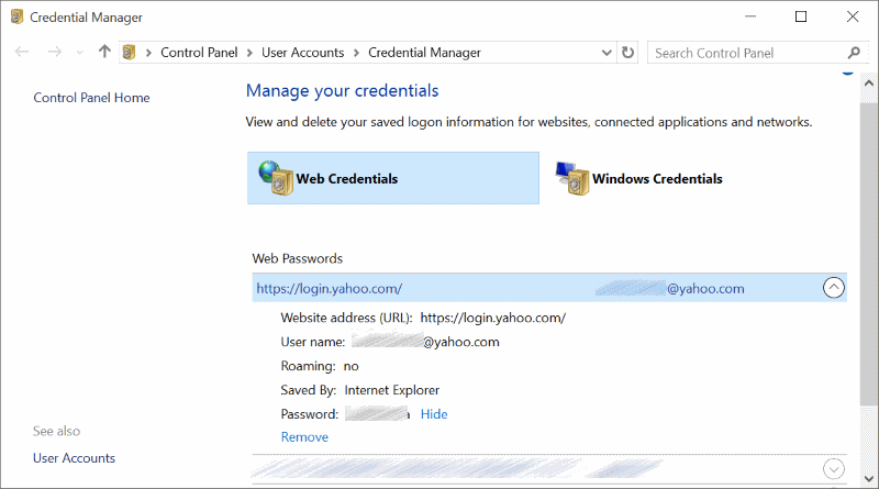Hacking & Technical Ideas: View Saved passwords in Edge browser