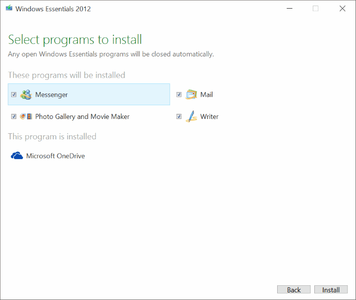 Download Windows Live Mail For Windows 10