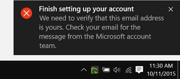 I created a Microsoft account using my Yahoo email address and have been using the new Mi How To Verify Microsoft Account Email Address In Windows 10